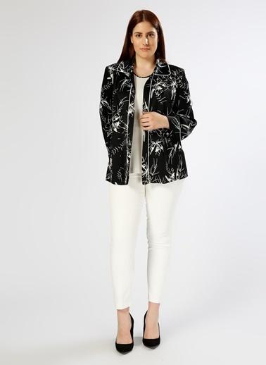 Ekol Ekol Siyah - Beyaz 2'li Ceket Siyah